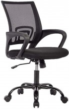 Office Chair Ergonomic Desk Chair Mesh Computer Chair Lumbar Support Modern Executive Adjustable  Swivel Chair